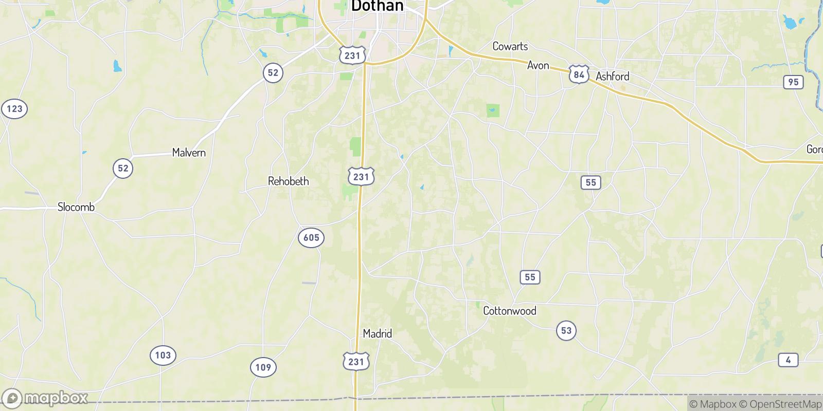 The best camping near Keytons, Alabama