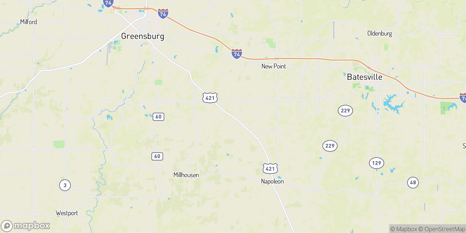 The best camping near Smyrna, Indiana