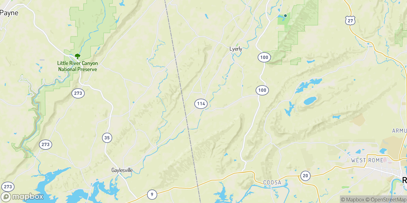 The best camping near Chattoogaville, Georgia