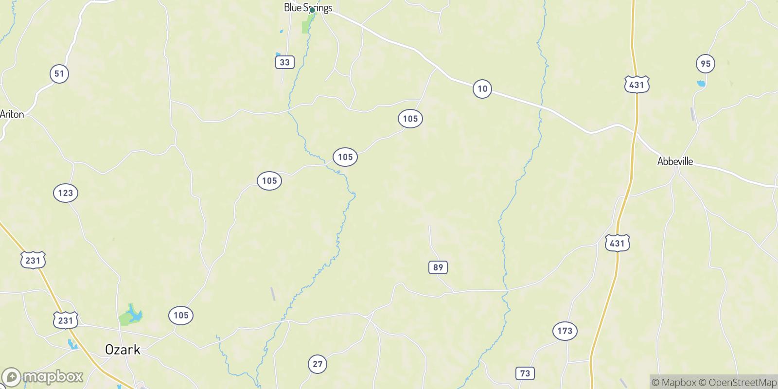 The best camping near Barefield Crossroads, Alabama