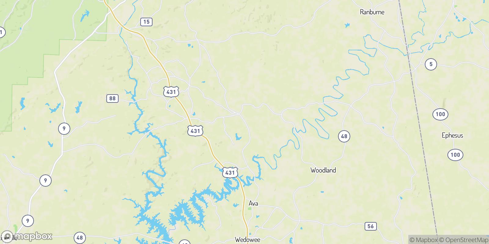 The best camping near Union, Alabama
