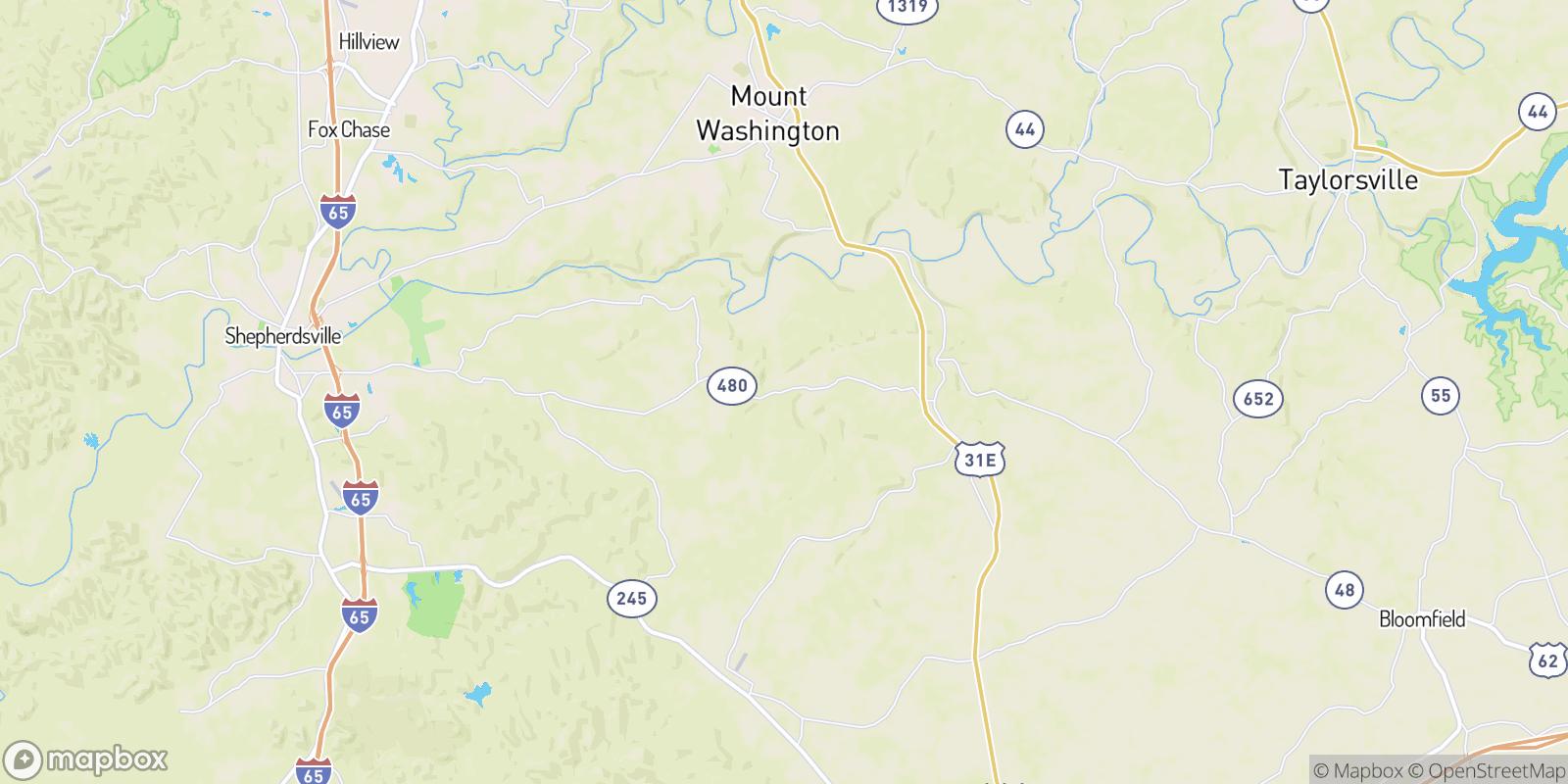 The best camping near Solitude, Kentucky