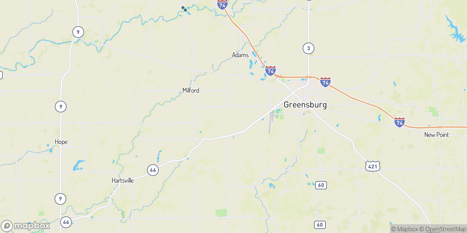 The best camping near Ewington, Indiana