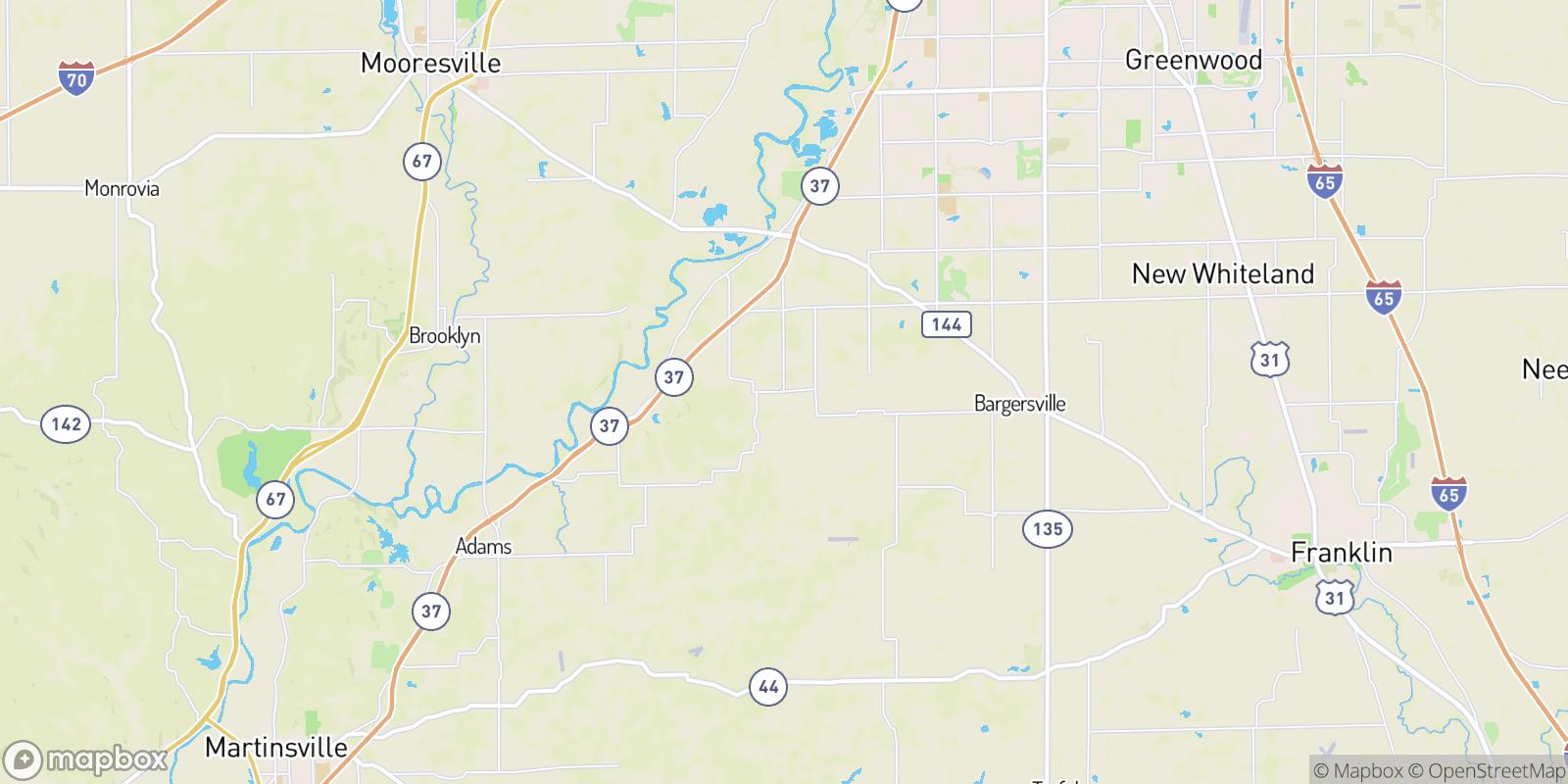 The best camping near Banta, Indiana