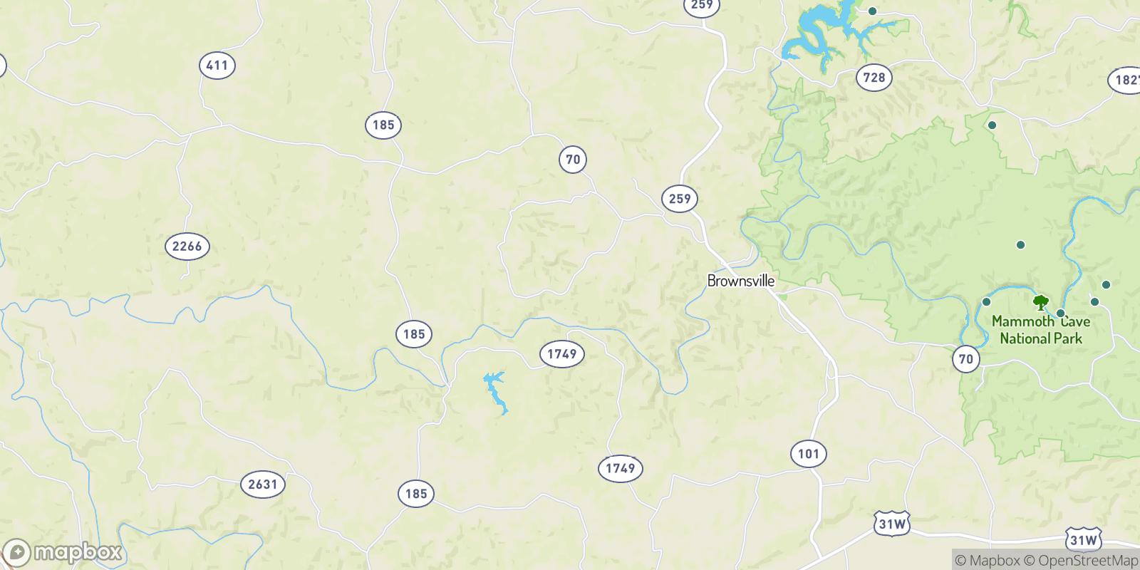 The best camping near Asphalt, Kentucky