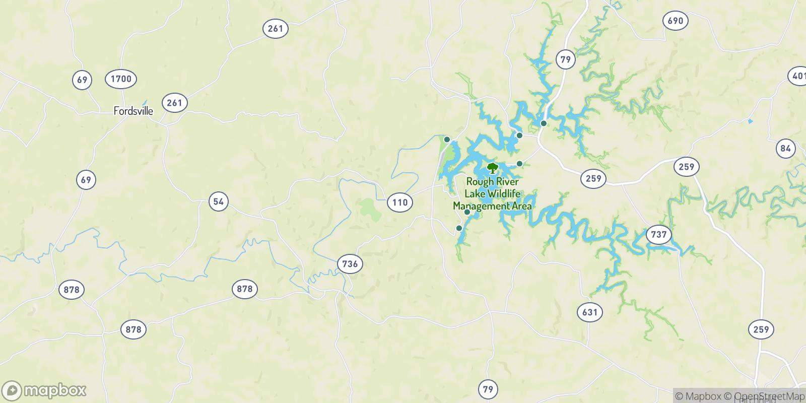 The best camping near Hickory Corner, Kentucky
