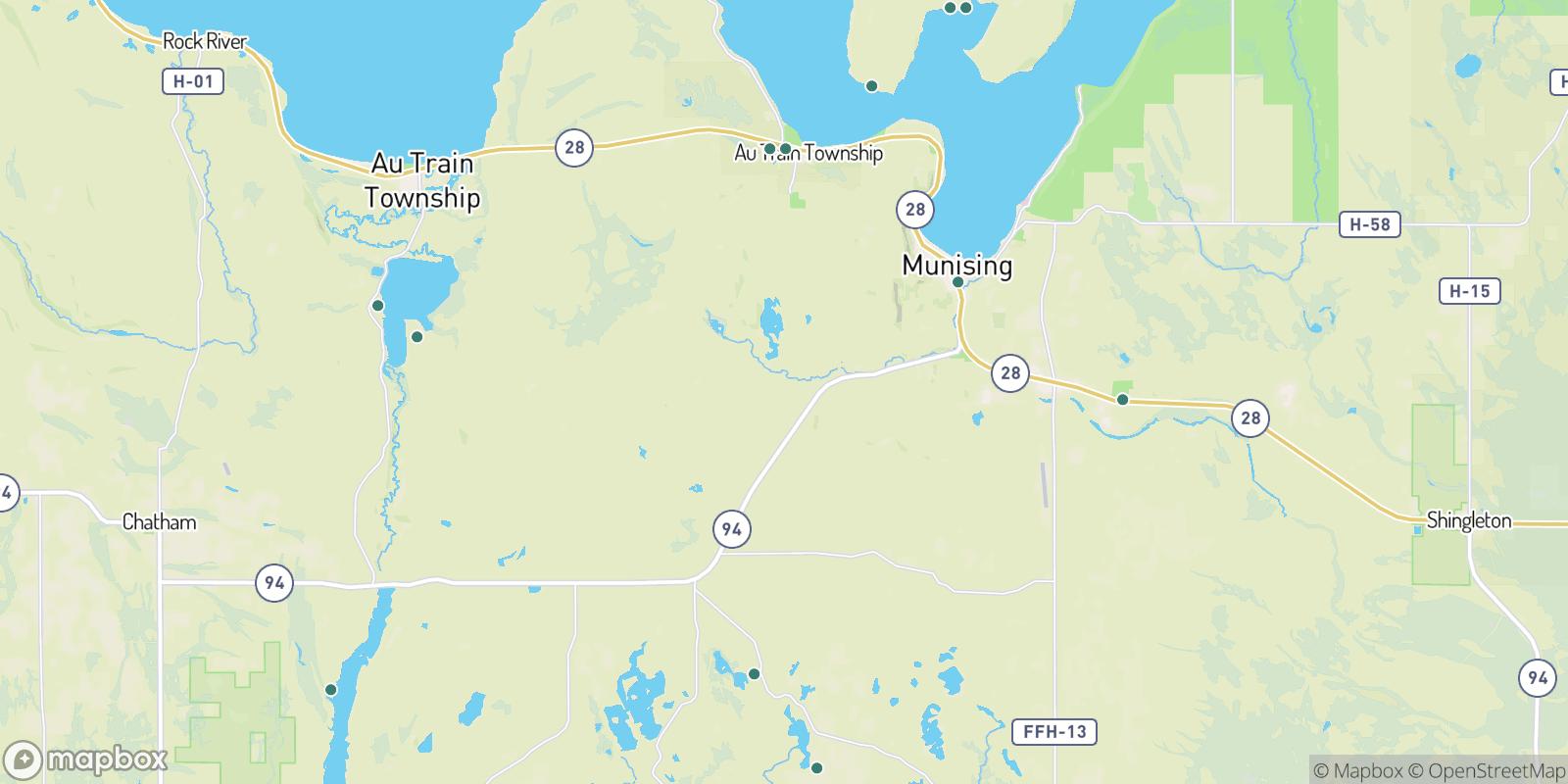 The best camping near Munising Junction, Michigan