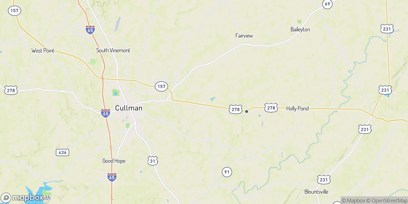 The best camping near Berlin, Alabama