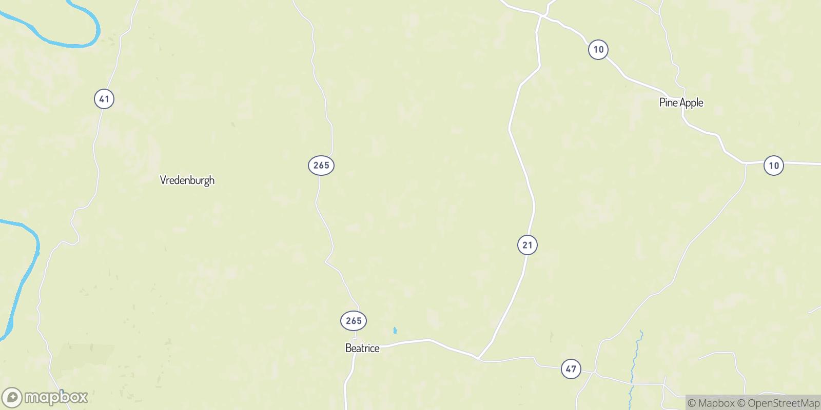 The best camping near Nadawah, Alabama
