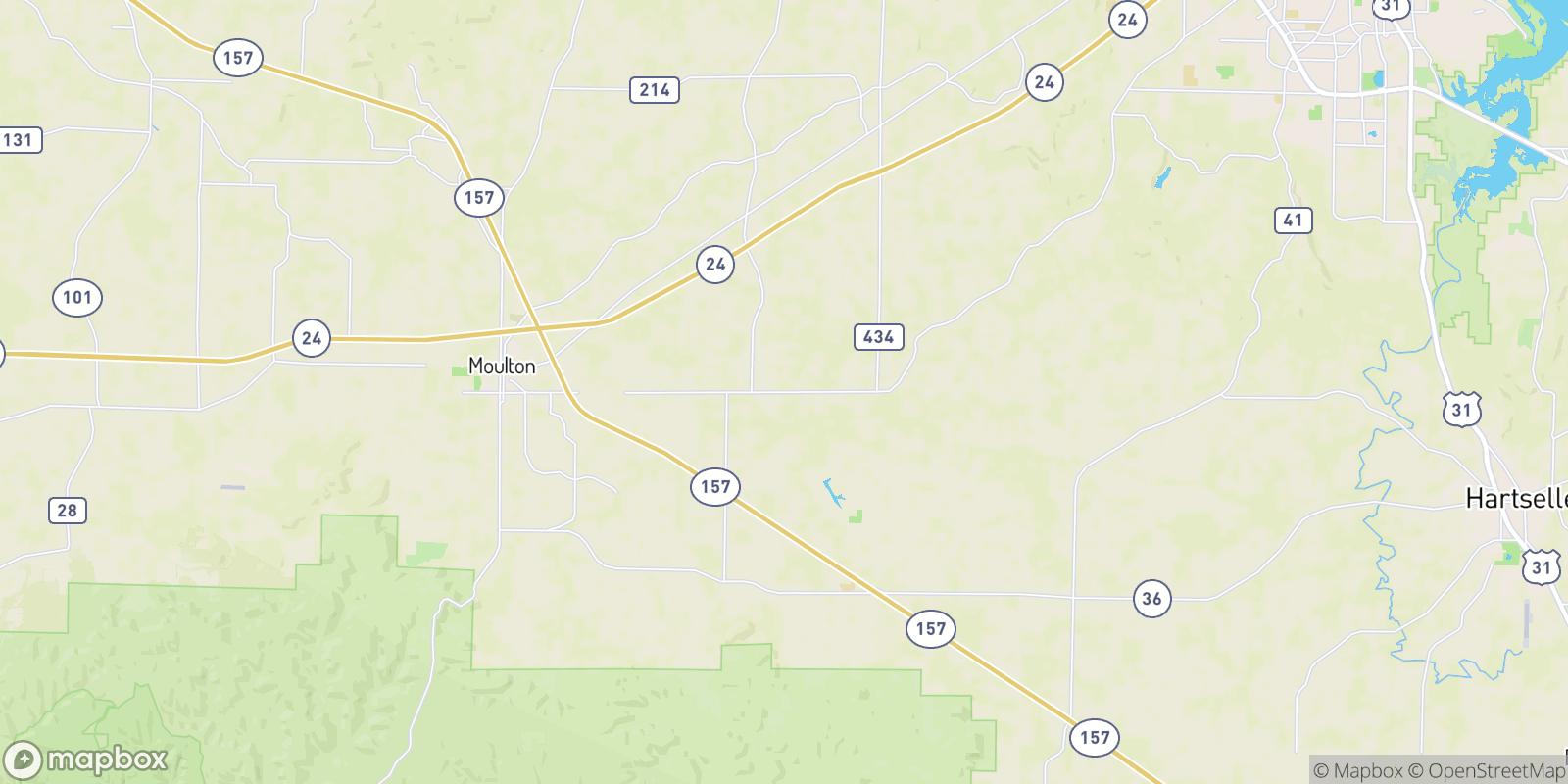 The best camping near Fairfield, Alabama