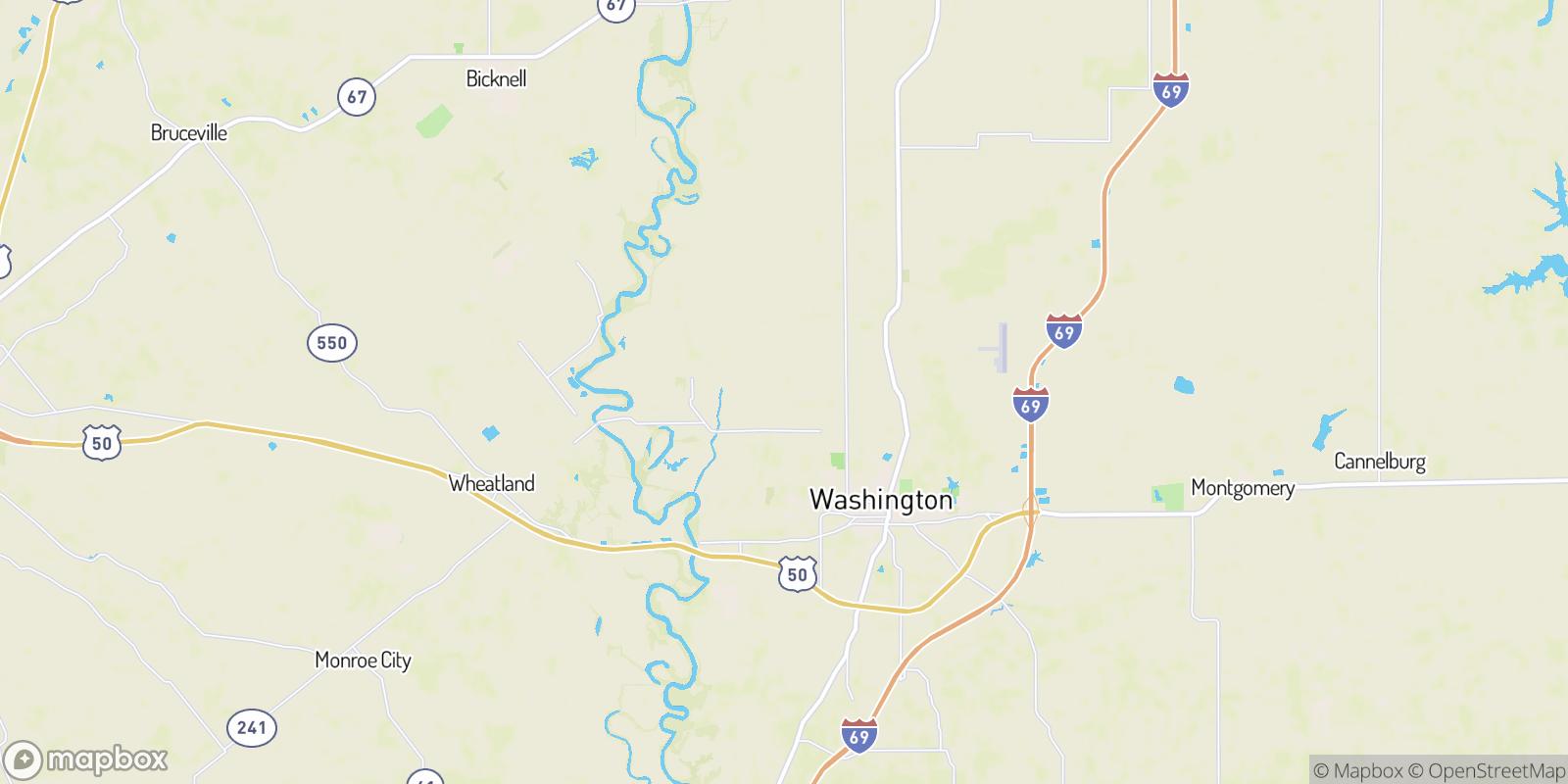 The best camping near Jordan, Indiana