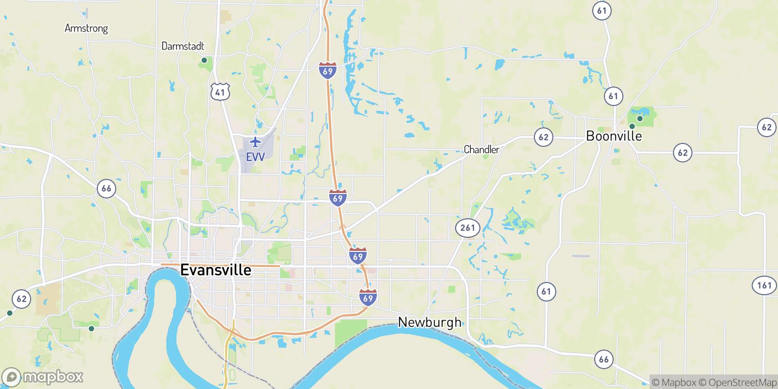 The best camping near Stevenson, Indiana