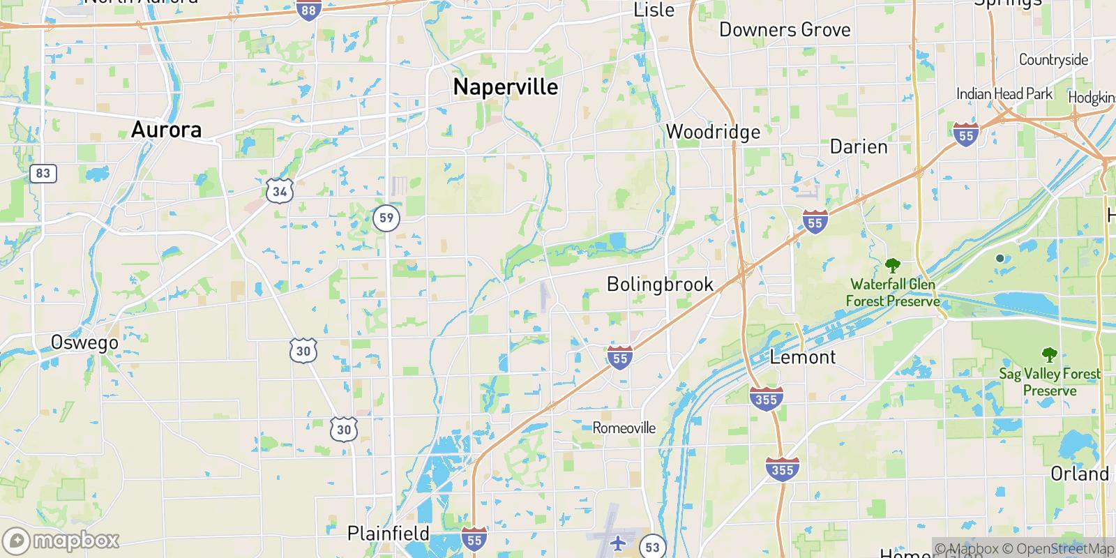 The best camping near Brookwood Estates, Illinois