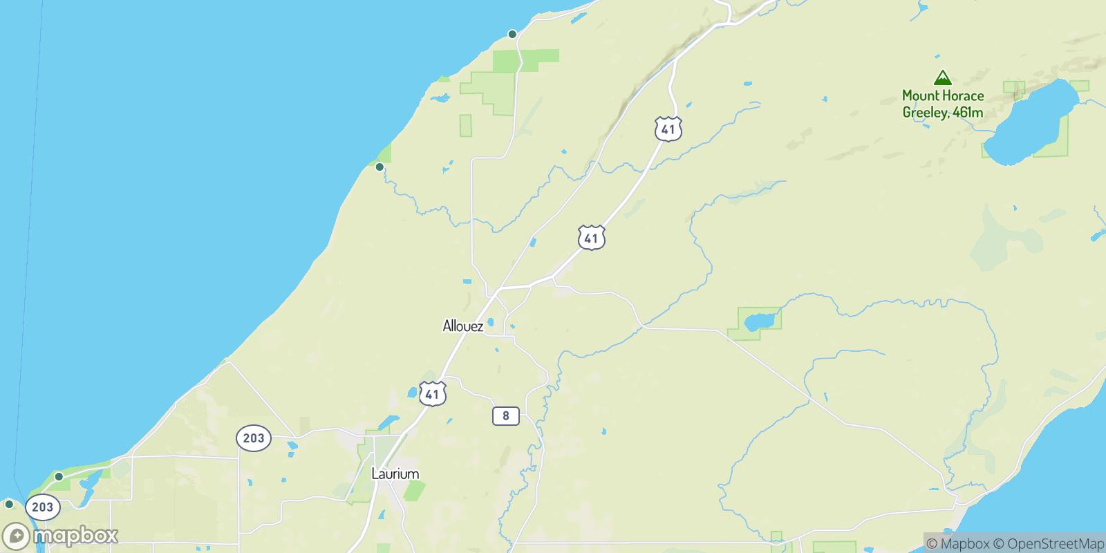 The best camping near Mohawk, Michigan
