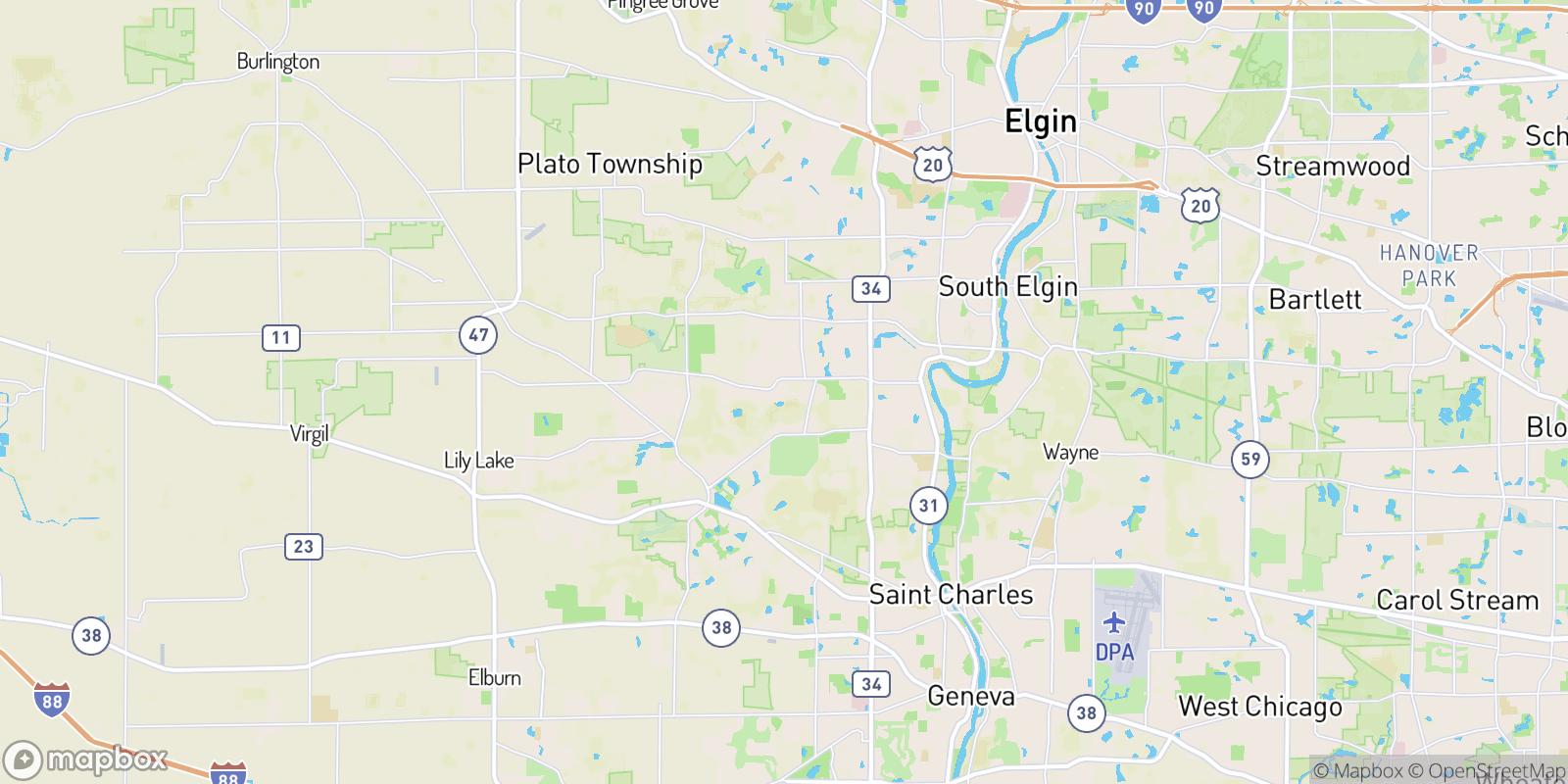 The best camping near Mallard Lake North, Illinois