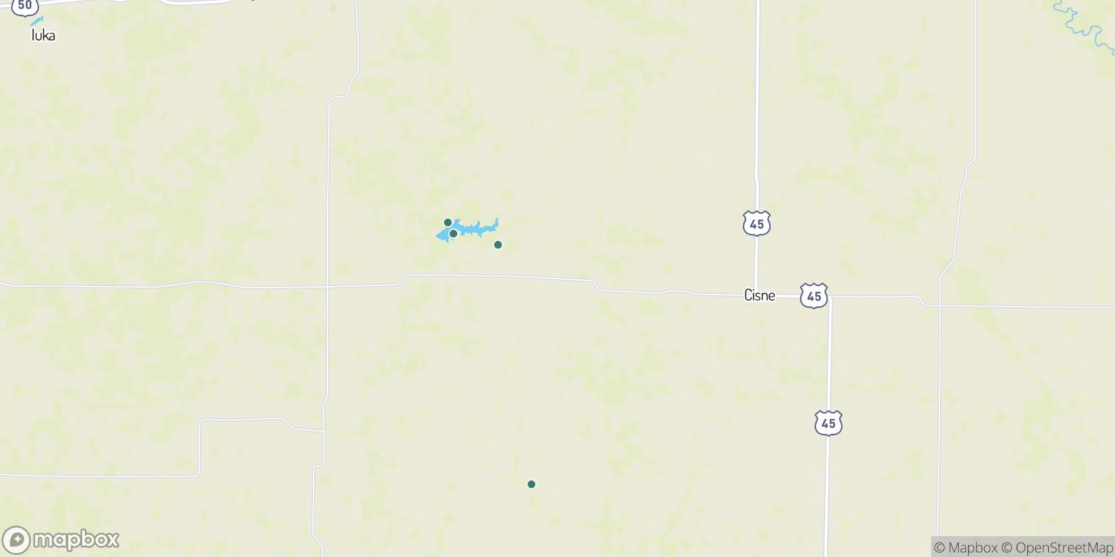 The best camping near Johnsonville, Illinois
