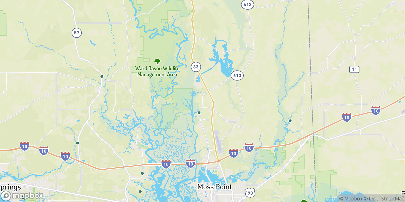 The best camping near Coll Town, Mississippi