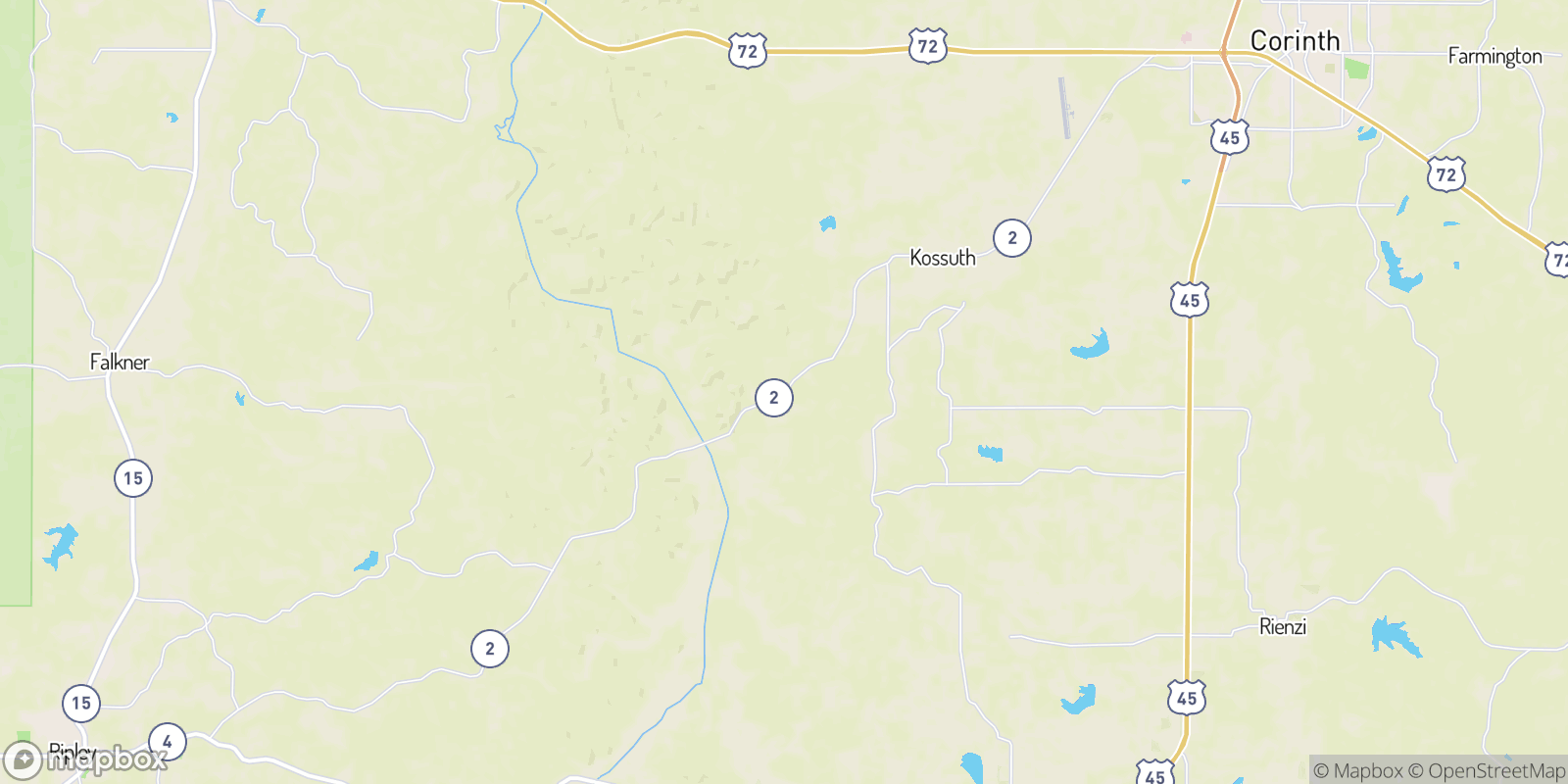The best camping near Crow, Mississippi