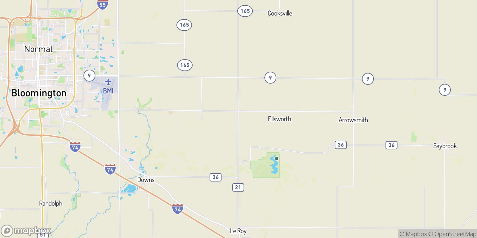 The best camping near Padua, Illinois