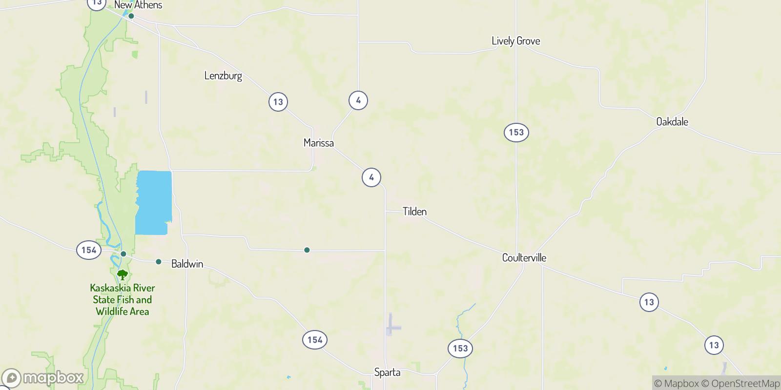 The best camping near Clarmin, Illinois