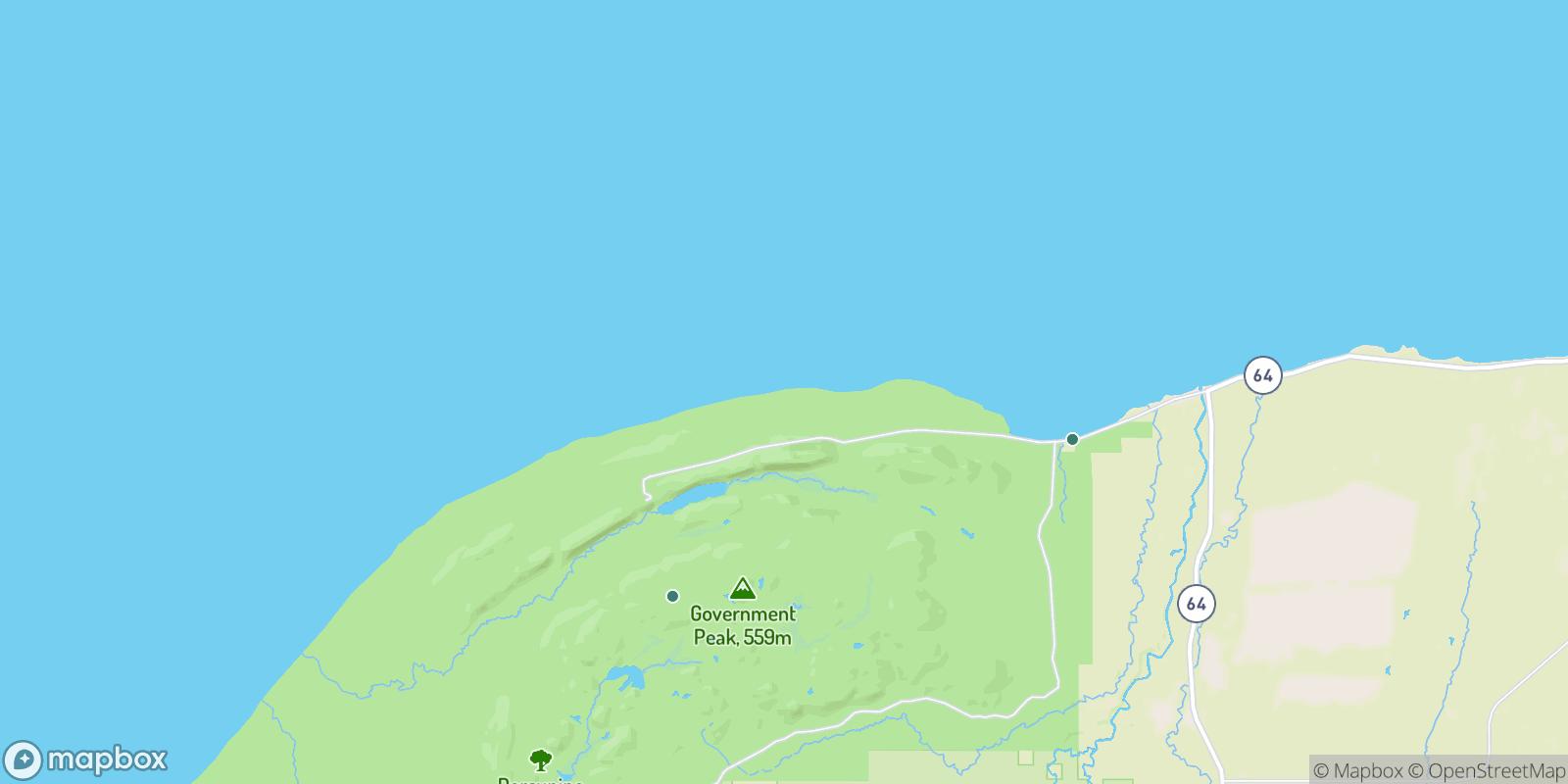 The best camping near Carp Lake Landing, Michigan