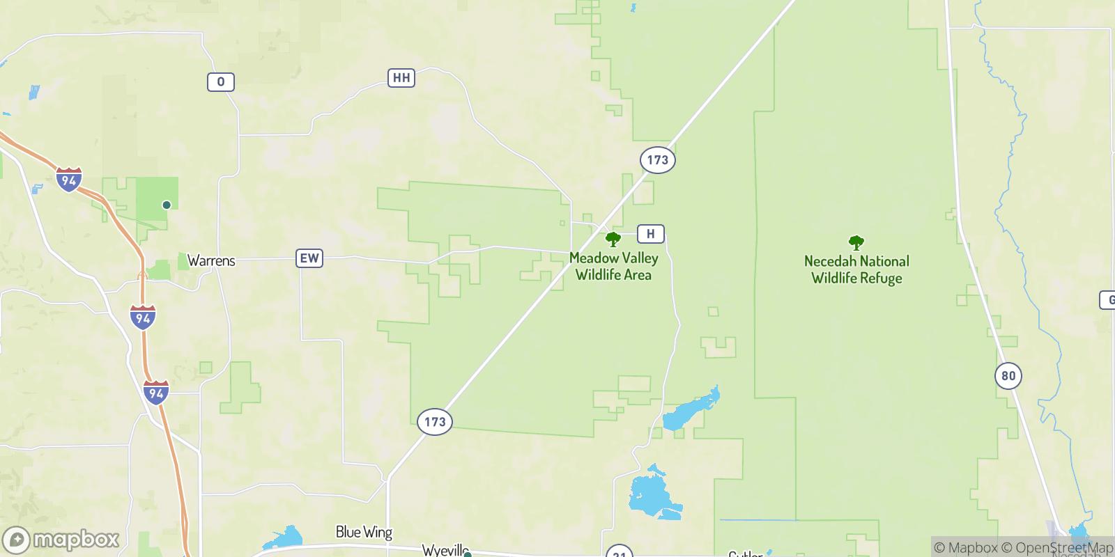 The best camping near Norway Ridge, Wisconsin