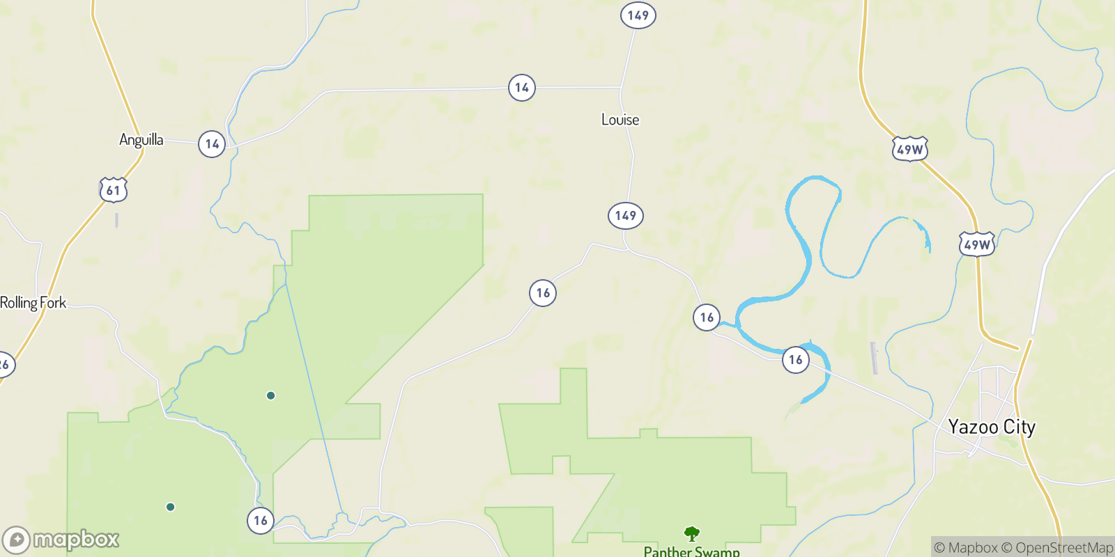The best camping near Patosi, Mississippi