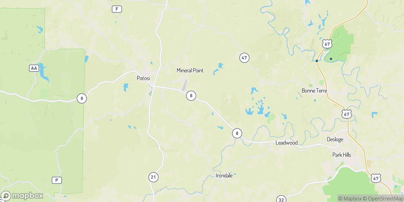 The best camping near Summit, Missouri