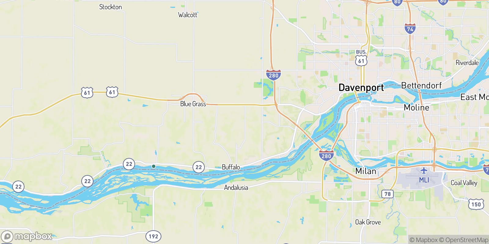 The best camping near Jamestown, Iowa