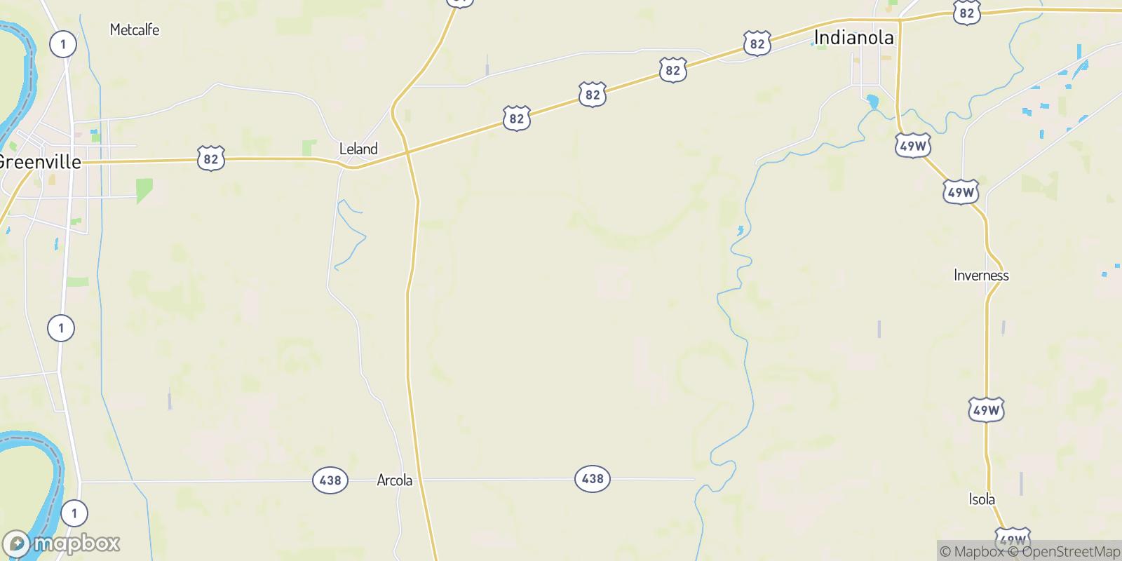 The best camping near Tribbett, Mississippi