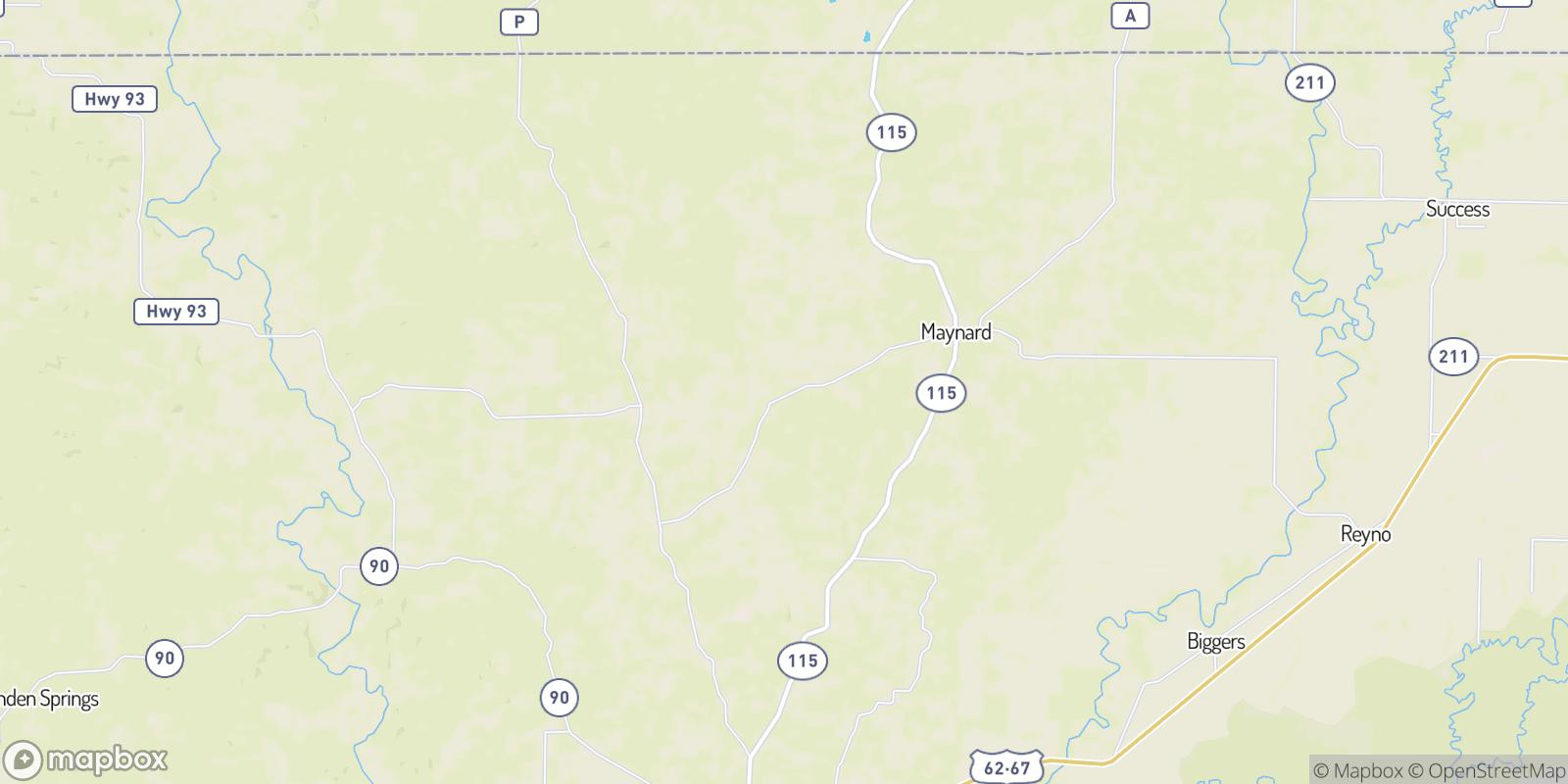 The best camping near Jerrett, Arkansas