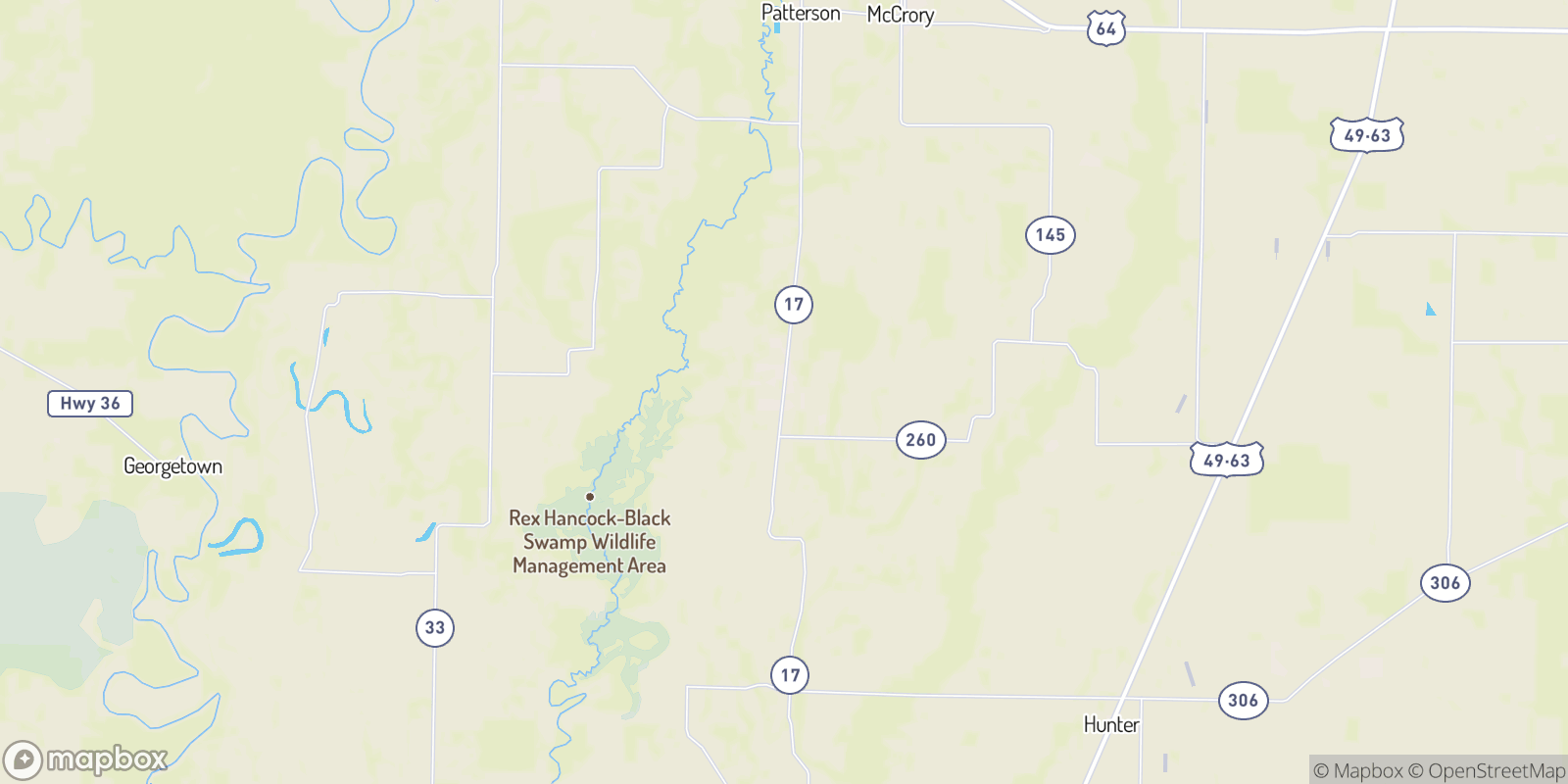 The best camping near Wiville, Arkansas