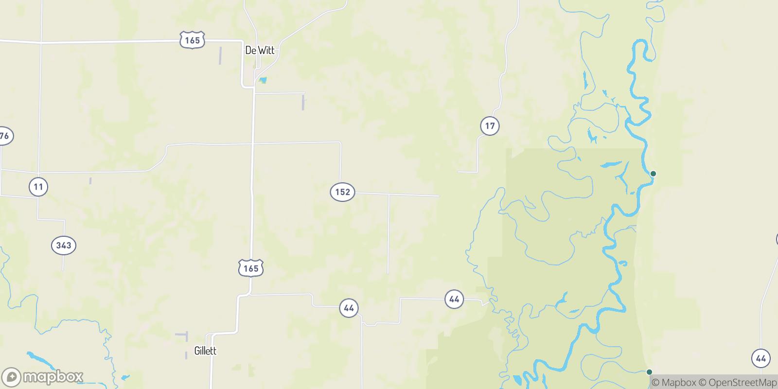 The best camping near Deluce, Arkansas