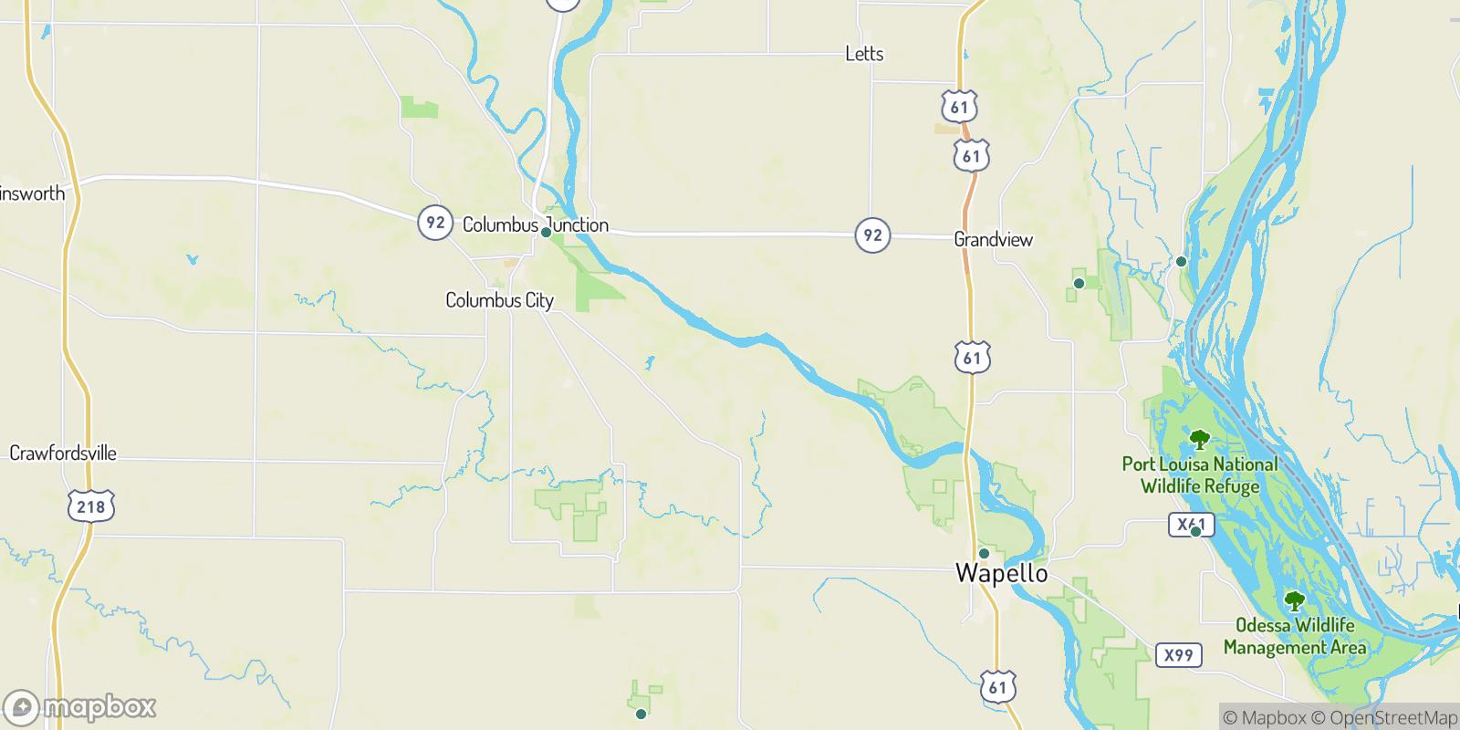 The best camping near Bard, Iowa