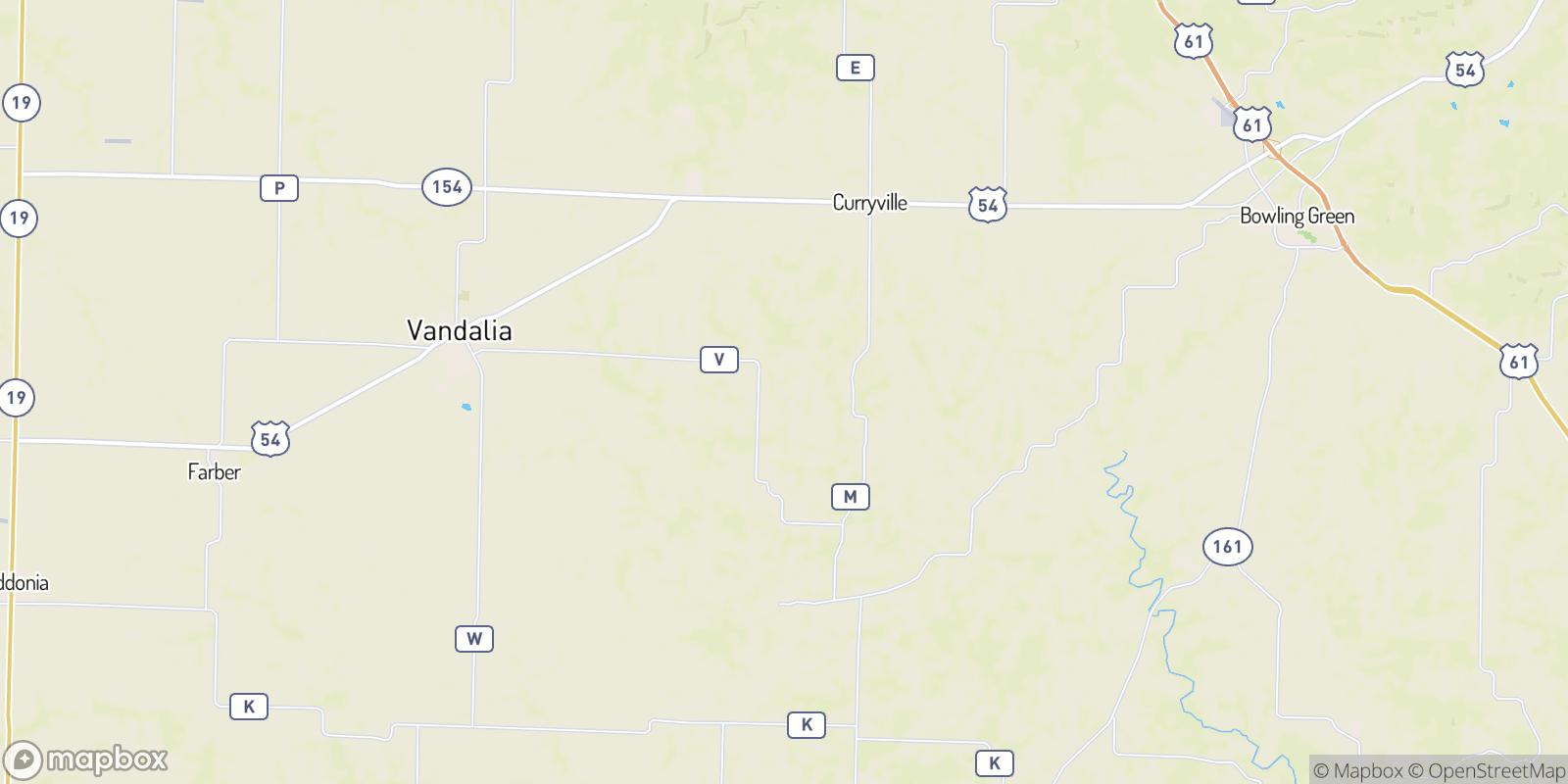 The best camping near New Harmony, Missouri