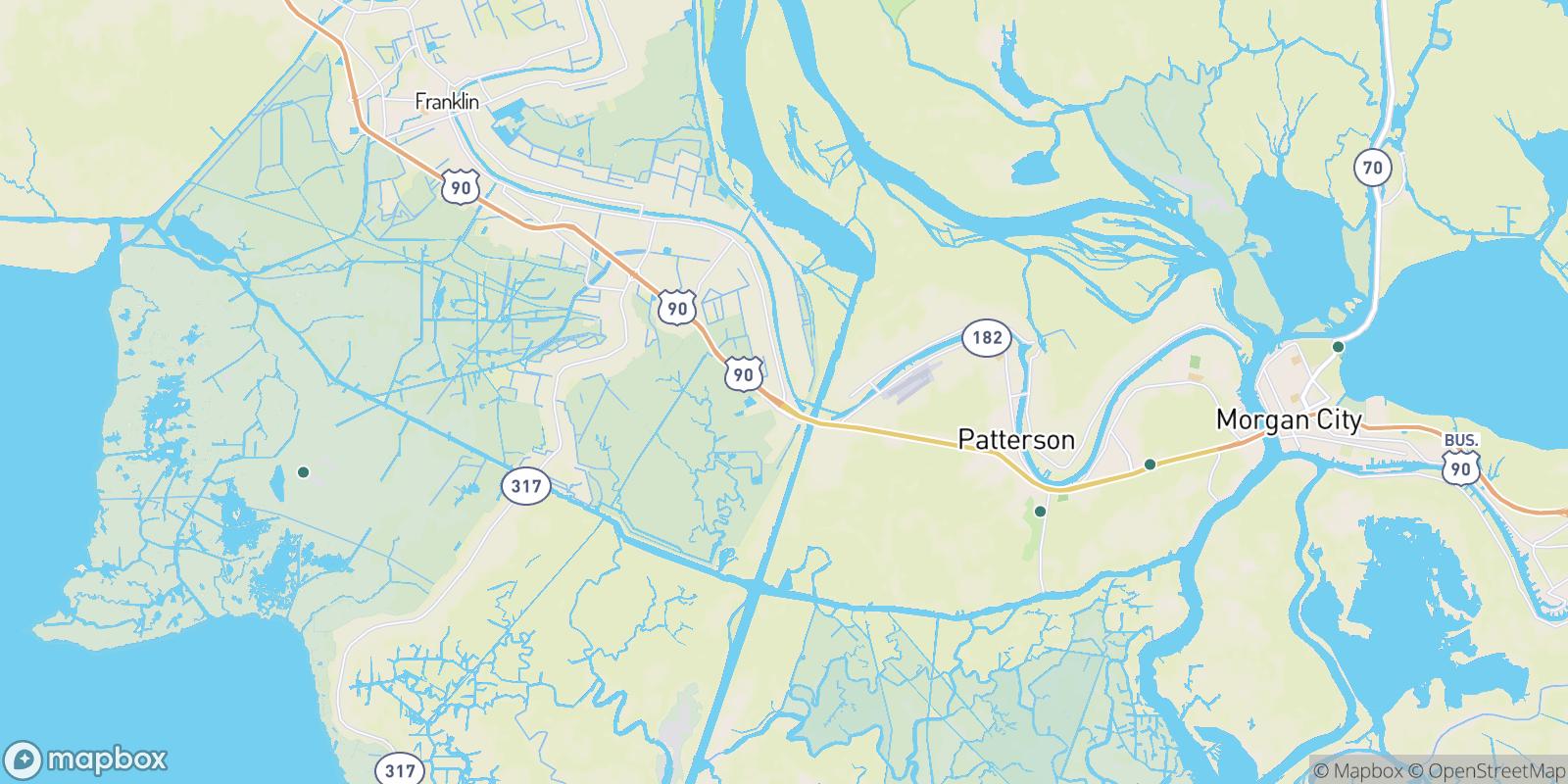 The best camping near Ricohoc, Louisiana
