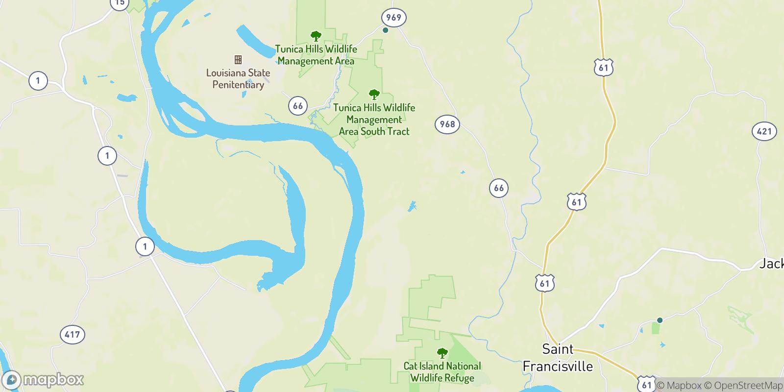 The best camping near Plettenberg, Louisiana