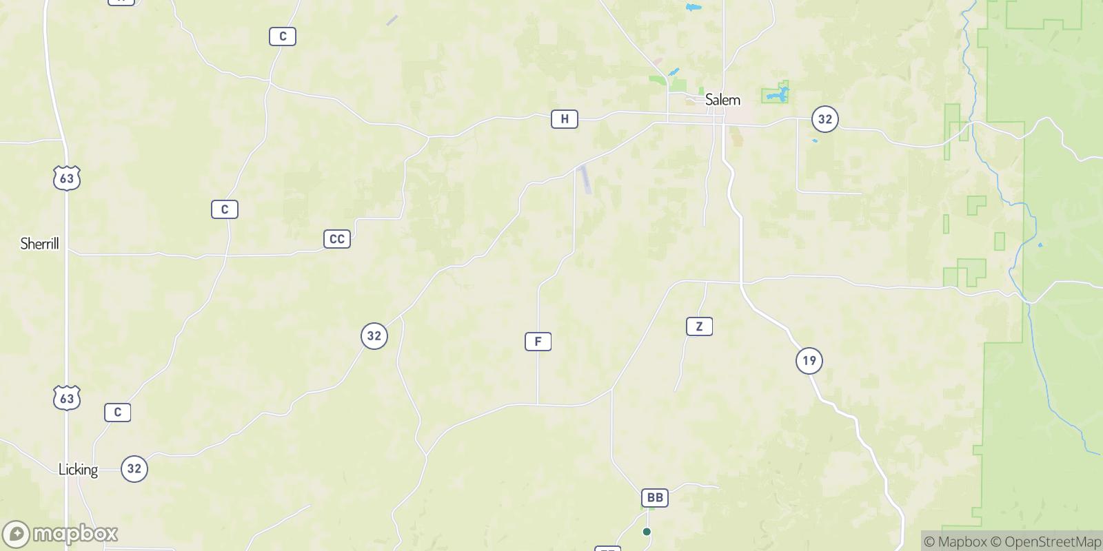 The best camping near Jack, Missouri