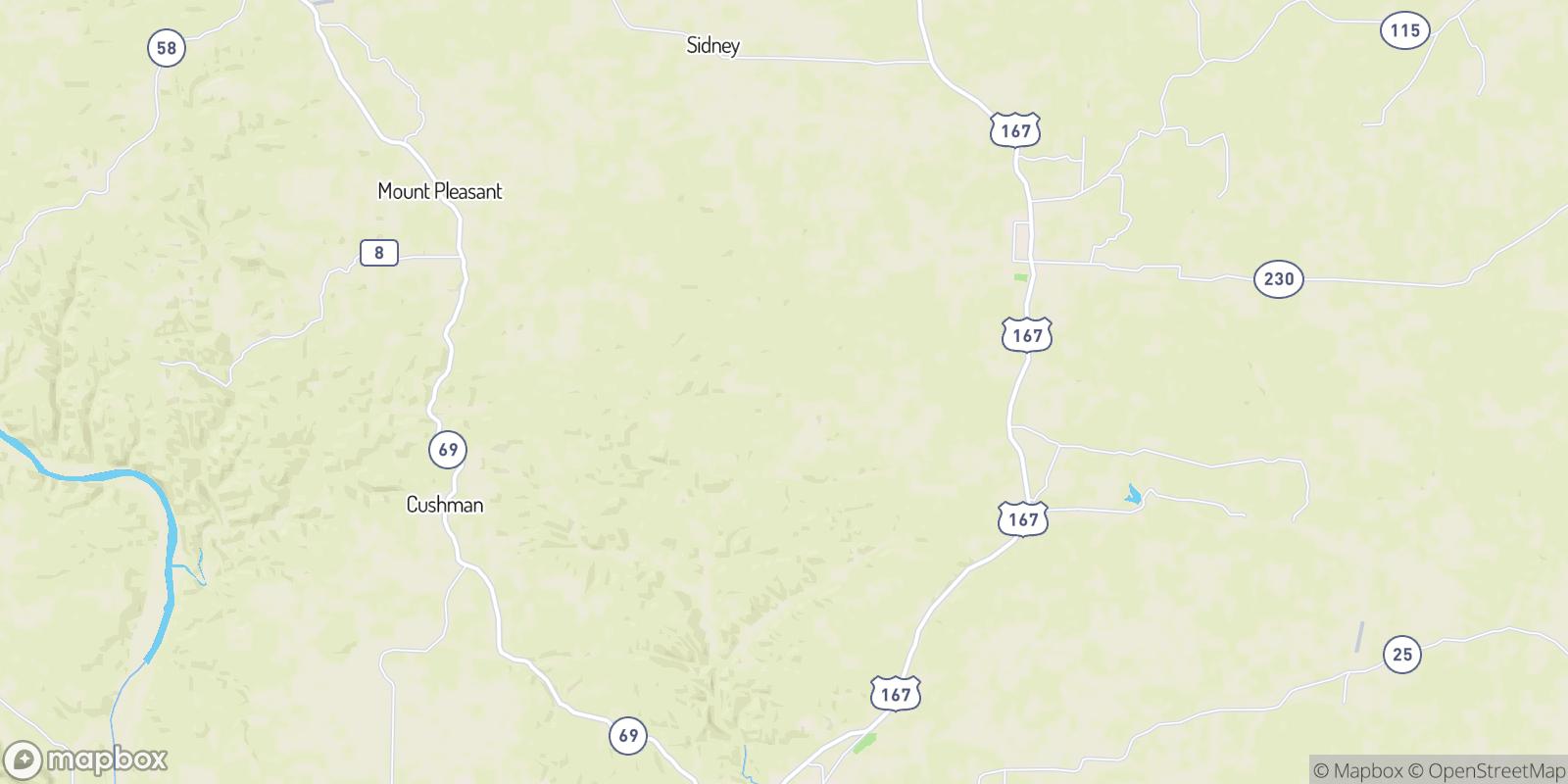 The best camping near Sandtown, Arkansas