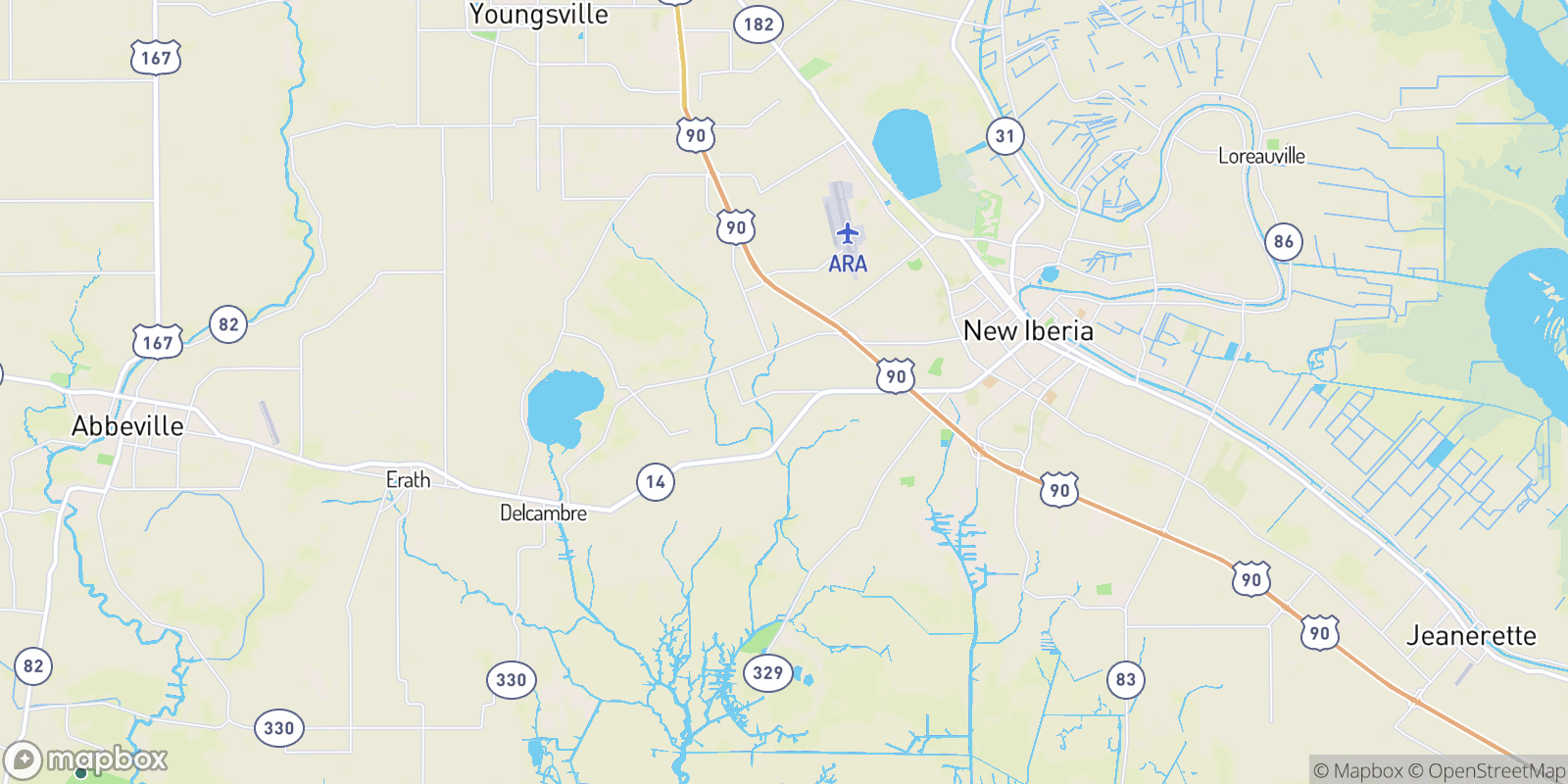 The best camping near Santiague, Louisiana
