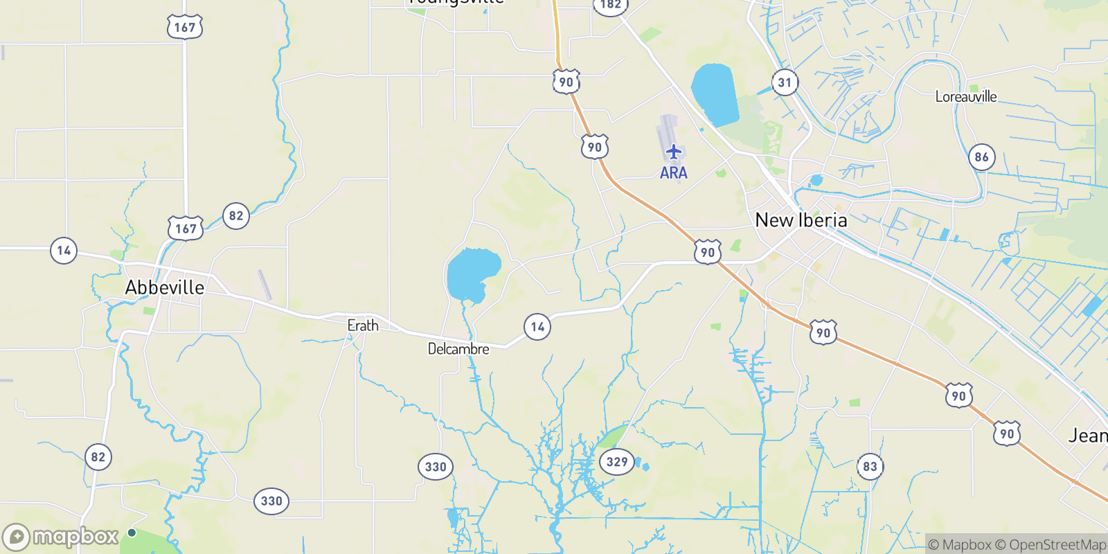 The best camping near Leleux, Louisiana
