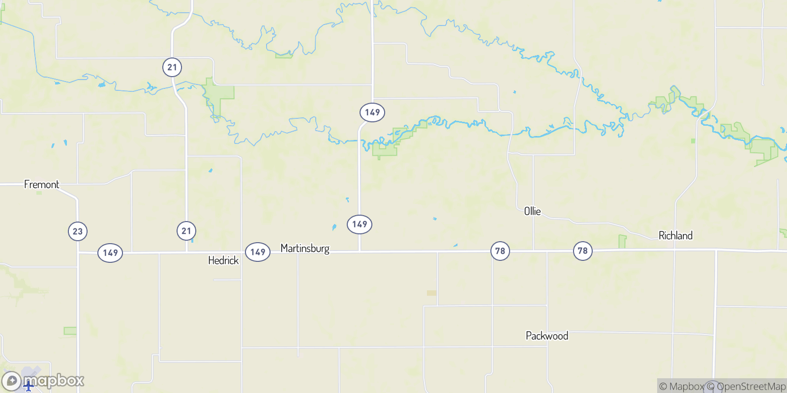The best camping near Nugent, Iowa
