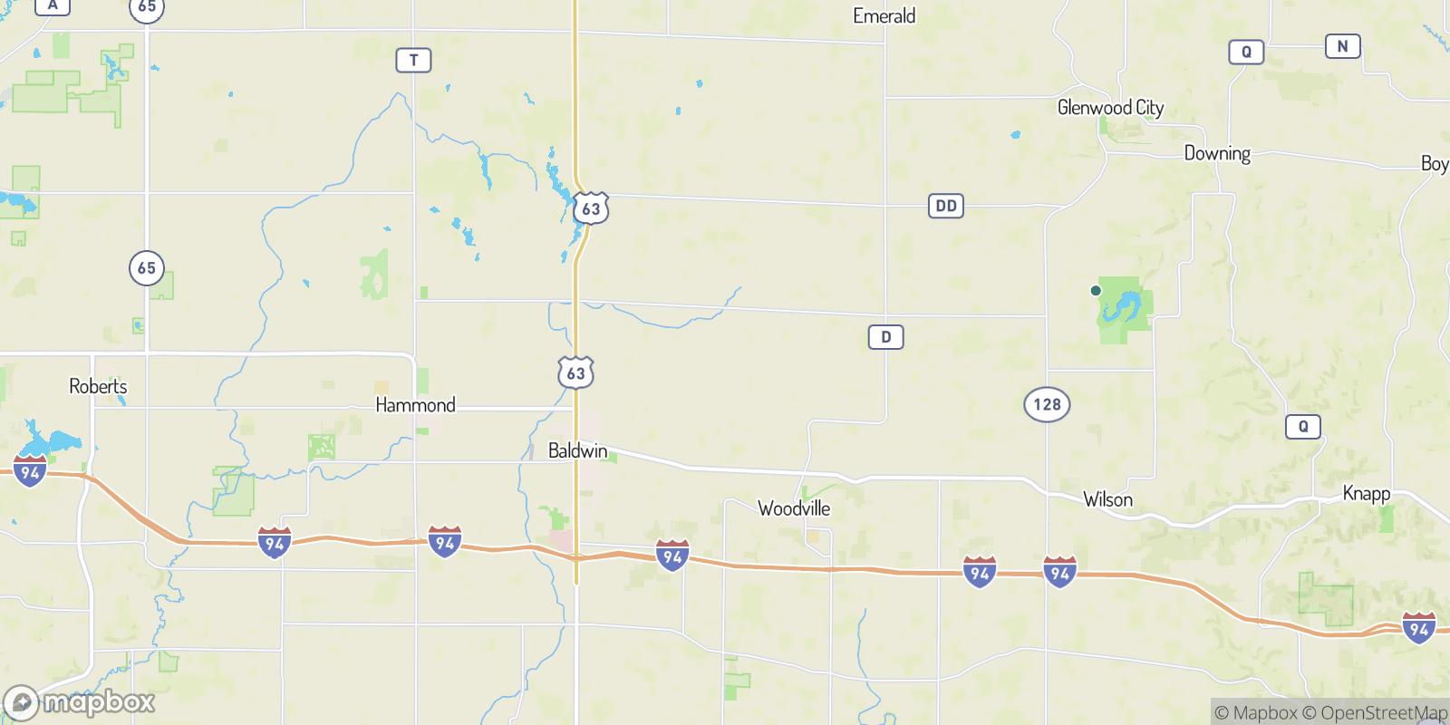The best camping near Dahl, Wisconsin