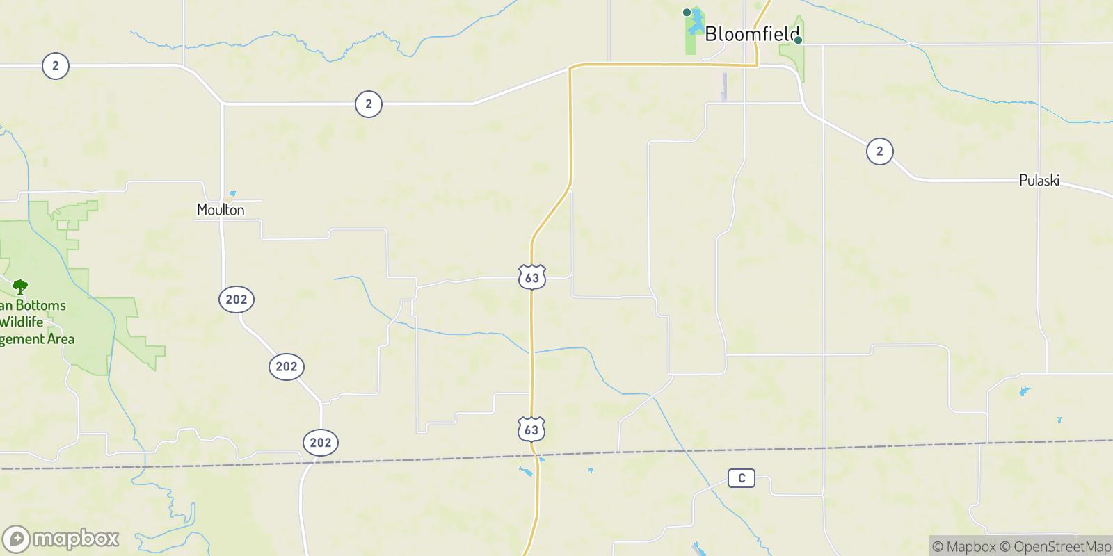 The best camping near Mark, Iowa