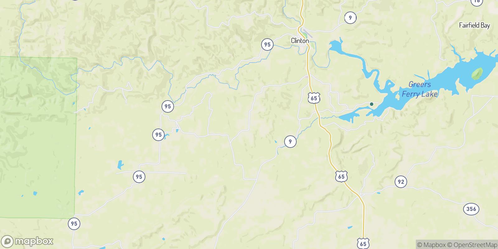 The best camping near Culpepper, Arkansas