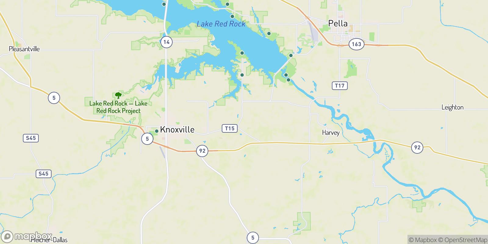 The best camping near Flagler, Iowa