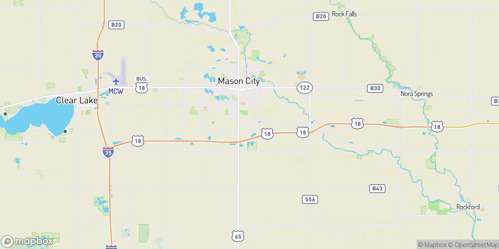 The best camping near Mason City Junction, Iowa