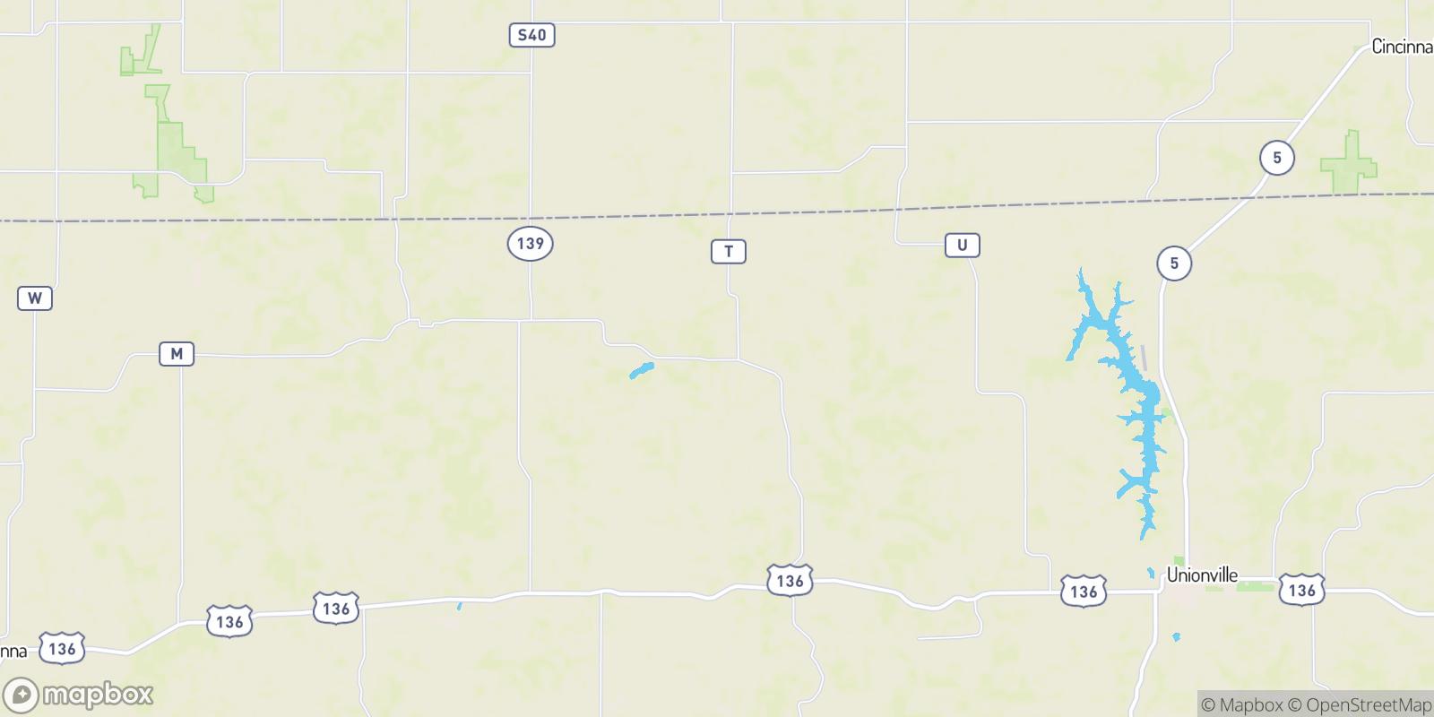 The best camping near Saint John, Missouri