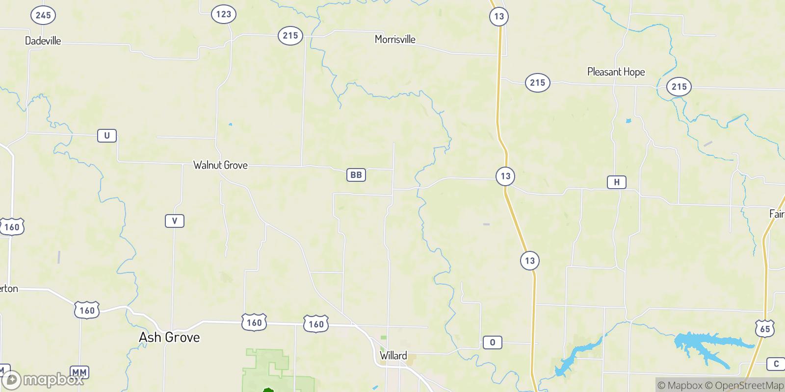 The best camping near Sacville, Missouri