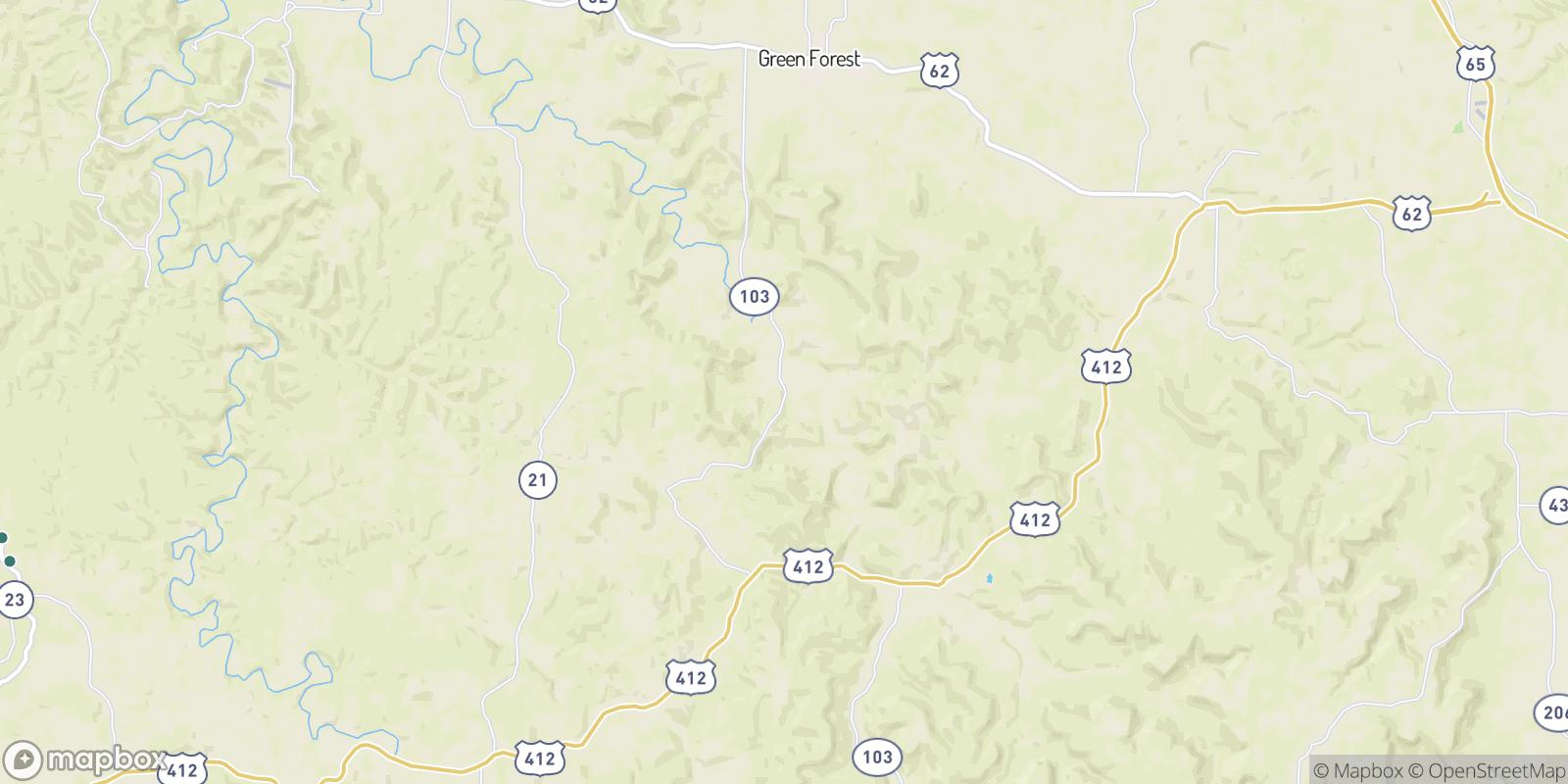 The best camping near Conner, Arkansas